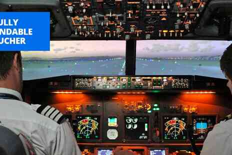 SimAIR737 Flight Simulators - Flight simulator experience near Gloucester - Save 56%