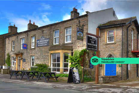 The Wheatsheaf in Wensleydale - A Carperby, Yorkshire Dales stay for two people with breakfast - Save 50%