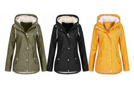 MBLogic - Womens hooded raincoat - Save 60%