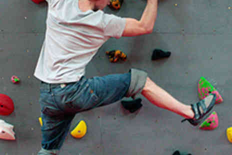 The Arch - Indoor Climbing Induction and Day Pass - Save 70%