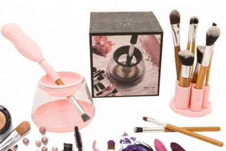 PinkPree - Electric makeup brush cleaner - Save 67%