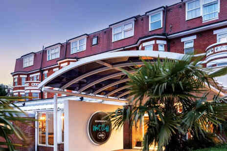Bournemouth West Cliff Hotel - A stay for two people with breakfast - Save 37%