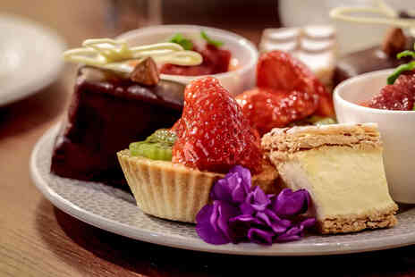 Doubletree by Hilton Majestic Hotel - Traditional afternoon tea for two people - Save 50%
