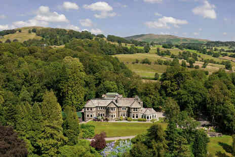 Merewood Country House Hotel - A Cumbria stay for two people with breakfast - Save 33%