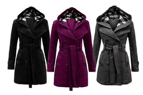 Topgoodchain - Womens trench coat - Save 84%