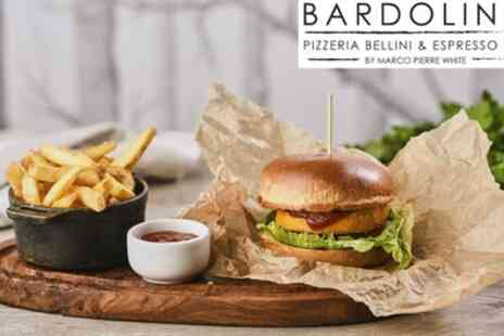 Marco Pierre White Bardolino Pizzeria Bellini and Espresso Bar - Two Course Italian Meal for Two - Save 0%