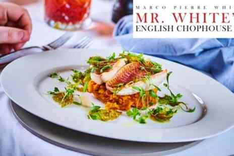 Mr Whites English Chophouse - Two Course Meal for Two - Save 0%