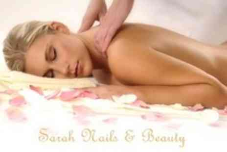 Sarah Nails and Beauty - Facial With Back Massage and Indian Head Massage - Save 27%