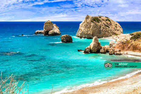 Super Escapes Travel - Half board Cyprus hotel stay with return flights - Save 51%