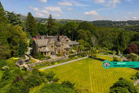 Cragwood Country House Hotel - A Cumbria stay for two people with breakfast - Save 46%