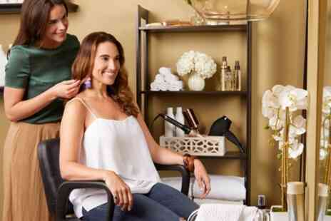 Mark Phillip Hairdressing - Wash, Cut and Blow Dry with Optional Highlights or Colour - Save 43%