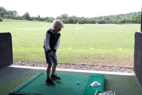 Plymouth Golf Centre - One Hour Junior Golf Lesson Academy Membership - Save 59%