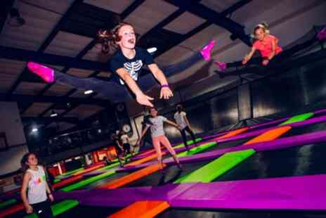 Atmosphere Trampoline Park - Two Hour Trampoline Park Entry for One, Two or Four - Save 36%