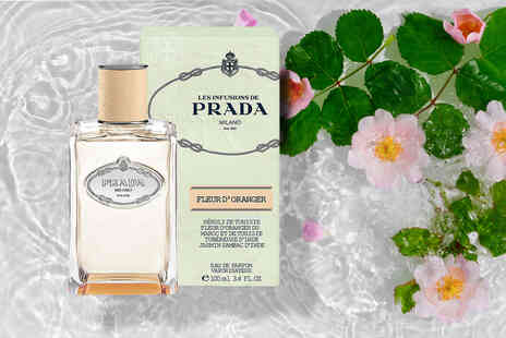 Wowcher Direct - 100ml bottle of Prada Fleur d'Oranger EDP - Save 46%