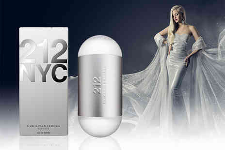 Wowcher Direct - 30ml bottle of Carolina Herrera 212 EDT - Save 53%