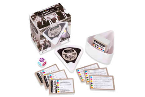 Bubble Bedding - The Beatles Trivial Pursuit game - Save 52%