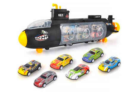 Vendinplus - Childrens submarine toy model, choose from three options - Save 67%