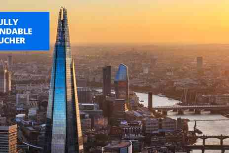 Shard Viewing Gallery Management - The View from The Shard flexible ticket - Save 0%