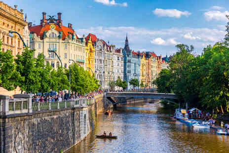 Deal of the Day Holidays - A Prague, Czech Republic hotel stay with return flights - Save 48%