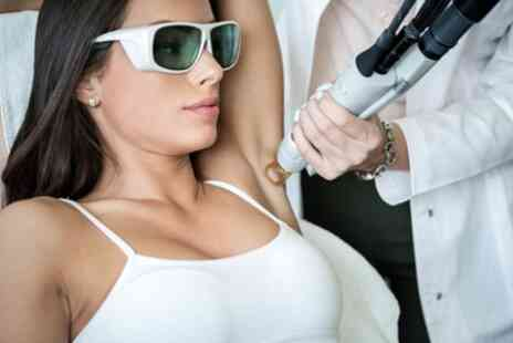 Rose Skin Clinic - Three Sessions of Laser Hair Removal on a Small or Medium Area - Save 57%