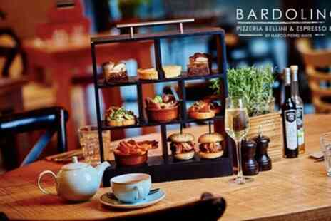 Bardolino Pizzeria Bellni and Espresso Bar - Italian Afternoon Tea and Optional Prosecco for 2 - Save 25%