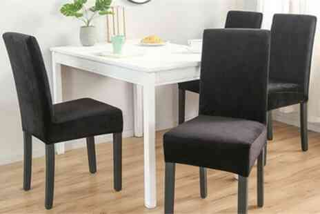 Groupon Goods Global GmbH - Stretchable Dining Chair Covers - Save 56%