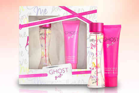 Wowcher Direct - Ghost Girl gift set includes a 30ml bottle of eau de toilette and a 50ml body lotion - Save 25%