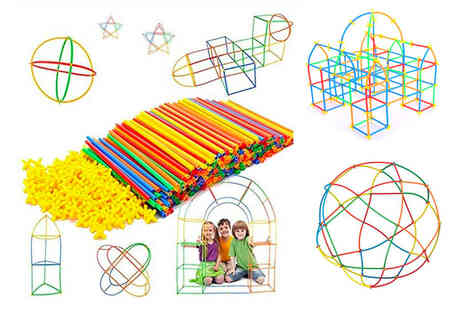 TopGoodChain - Childrens plastic building straw set - Save 83%