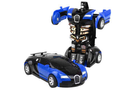 Topgoodchain - Kids transform collision robot toy - Save 83%