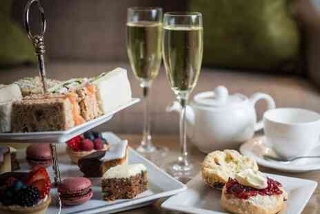 Ladbrooke Hote - Festive afternoon tea for two people with a bottle of Prosecco - Save 50%