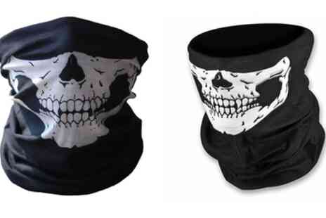 Groupon Goods Global GmbH - Unisex Face Cover with Skull Print - Save 87%