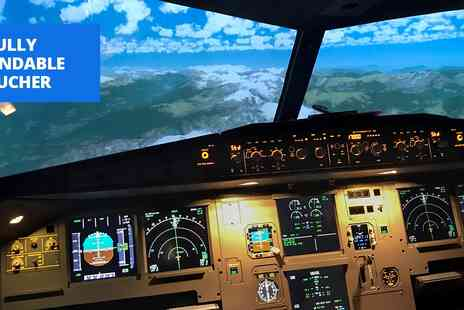 Deeside Flight Simulators - Cheshire flight simulator experience - Save 59%