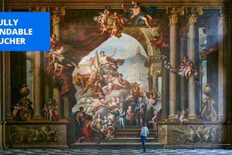 The Greenwich Foundation For The Old Royal Naval College - Painted Hall visit for 2 with hot drink - Save 0%
