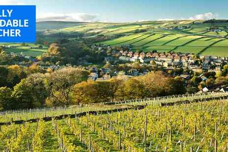 Holmfirth Vineyard - Vineyard tour, tasting & brunch for 2 in Yorkshire - Save 44%