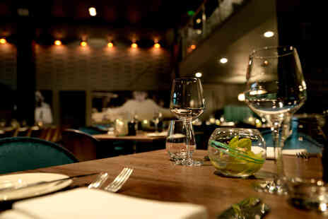 Black and White Hospitality - Two course dining for two people - Save 42%