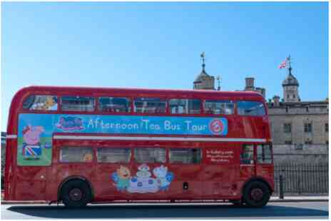 Virgin Experience Days - Peppa Pig Afternoon Tea Bus Tour for Two Adults and One Child - Save 0%