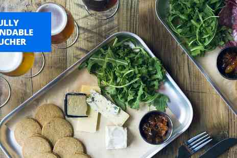 BrewDog - Beers & cheeseboard for 2 - Save 50%