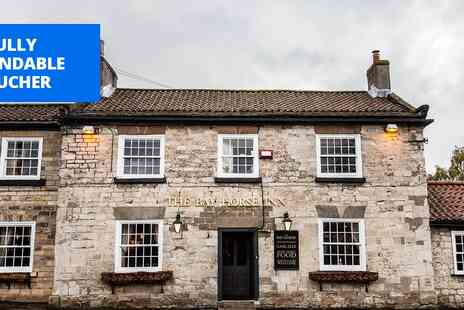 The Bay Horse Inn - 2 course meal for 2 - Save 46%