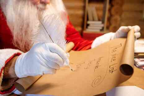 Lapland Mailroom - Personalised Santa letter, activity pack and nice list certificate - Save 50%