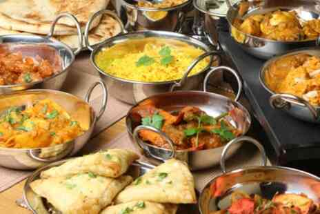 Bombay Lounge - Two Course Indian Meal for Up to Four with Rice or Naan - Save 54%