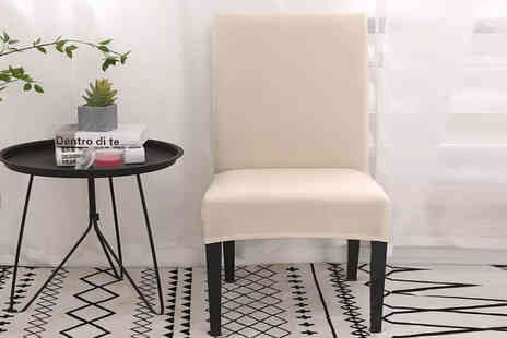 I Nod - Stretchable dining chair cover - Save 0%