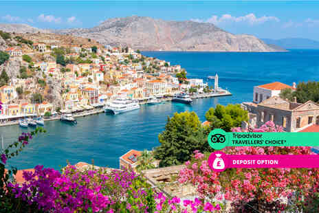 Deal of the Day Holidays - A Half board Rhodes, Greece hotel stay with return flights - Save 0%