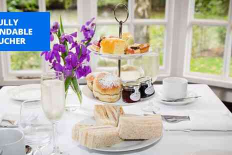 Mere Court Hotel & Conference Centre - Afternoon tea for 2 at AA Rosette Cheshire manor - Save 37%