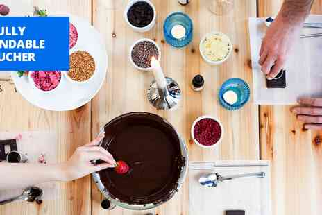 My Chocolate - Chocolate making workshop for 2 - Save 40%