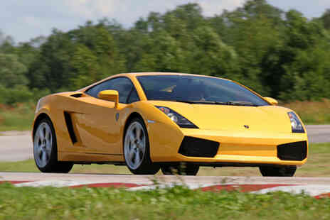 U Drive Cars - Three mile Lamborghini or Ferrari driving experience - Save 61%