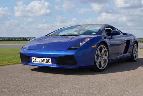 Supercar Test Drives - Three laps in a Lamborghini or Ferrari - Save 74%