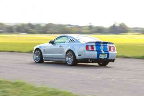 U Drive Cars - Three mile Shelby Mustang GT500 driving experience - Save 71%