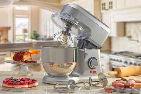 CJ Offers - Cooks Professional stand mixer with a stainless steel bowl - Save 73%