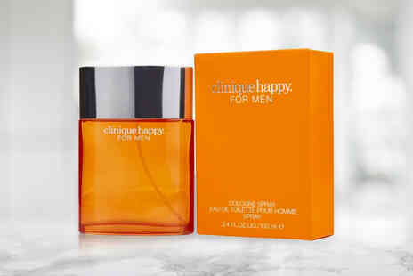 Shoppaholic - 100ml Clinique Happy Cologne spray - Save 0%
