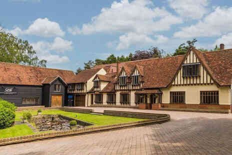 Great Hallingbury Manor - A Bishops Stortford stay for two people with breakfast - Save 31%
